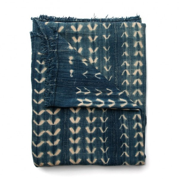 Imogene + Willie african indigo textile