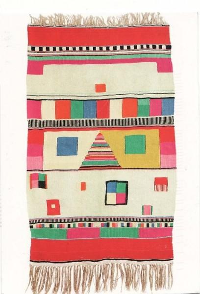 delisandwich vintage geometric rug tumblr image