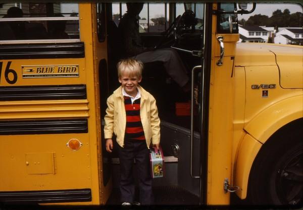 first day of kindergarten 1978 knitamknit flickr