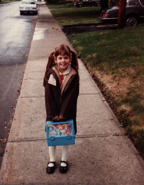 izzy first day of school 1985 izzy plante