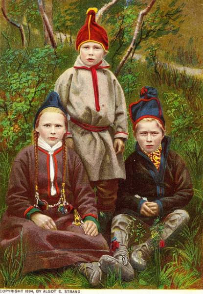 sami children lappland
