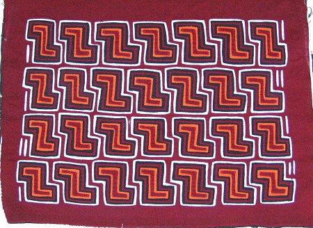 zig zag mola pattern