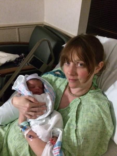 me with newborn eero