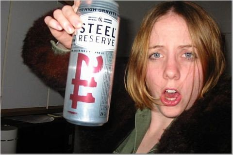 drinking steel reserve